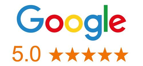 5 étoiles Google